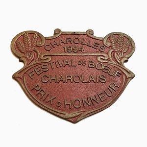 Panneau Concours Agricole Charolles, 1994