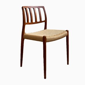 Mid-Century Danish Teak Model 83 Dining Chair by Niels Otto Møller for J.L. Møllers, 1950s