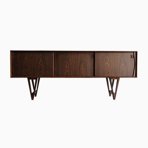 Scandinavian Rosewood Sideboard by Kurt Østervig for K. P. Møbler, 1950s