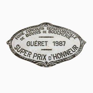 Concours Agricole Guéret Super Prix D'Honneur Sign, 1987