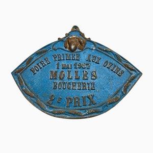 Panneau Concours Agricole Ovins Molles, 1987