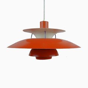 Lámpara de techo modelo PH5 danesa vintage de Poul Henningsen para Louis Poulsen