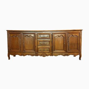 Louis XV Solid Oak Sideboard