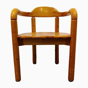 Pine Wood Dining Chairs by Rainer Daumiller for Hirtshals Savvaerk, 1980s, Set of 12
