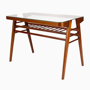 Mid-Century Czech Wooden Coffee Table by František Jirák, 1960s