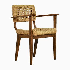 Mid-Century Armchair by Adrien Audoux & Frida Minet for Vibo Vesoul, 1950s
