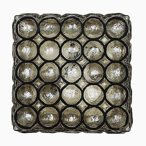 Brutalist Glass Sconce from Limburg, 1960s
