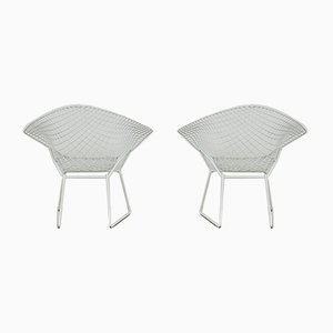 Sedie Diamond vintage di Harry Bertoia per Knoll Inc. / Knoll International, anni '70, set di 2