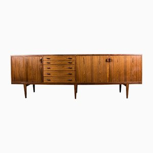 Danish Brazilian Rosewood Sideboard by Henry Rosengren Hansen for Brande Møbelindustri, 1960s