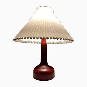 Lámpara de mesa modelo 343 de Gunnar Biilmann Petersen para Le Klint, años 40