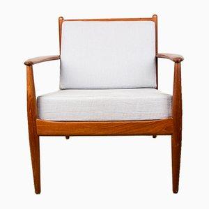 Danish Teak Lounge Chairs by Grete Jalk for France & Søn / France & Daverkosen, 1960s, Set of 2