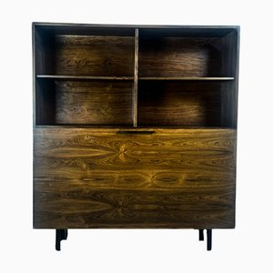Danish Rosewood Bar Cabinet by Ib Kofod Larsen for Faarup Møbelfabrik, 1960s