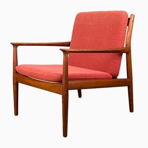 Danish Teak Model GM5 Lounge Chairs by Svend Åge Eriksen for Glostrup, 1960s, Set of 2
