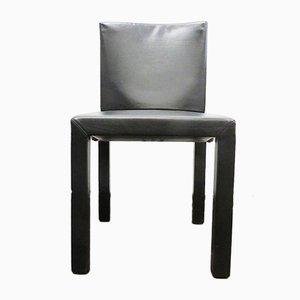 Chaises de Salon Modèle Arcadia en Cuir par Paolo Piva pour B & B Italia / C & B Italia, 1980s, Set de 4