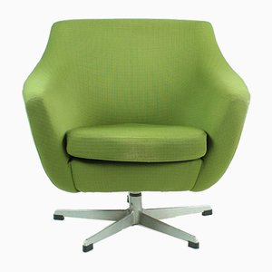 Mid-Century Czechoslovakian Green Club Chair from UP Závody, 1970s