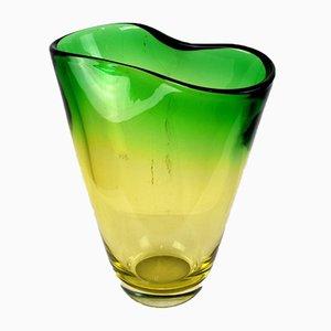 Italian Sommerso Glass Vase, 1960s