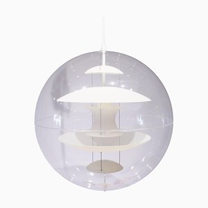 Globe with Opaline Glass by Verner Panton for Verpan, 1990s
