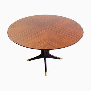 Mid-Century Italian Round Dining Table by Ico Parisi for MIM, 1950s