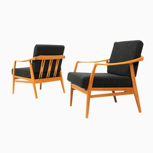 Midcentury Armchairs by Wilhelm Knoll, Set of 2
