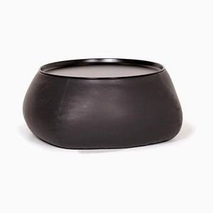 Black Leather Storage Coffee Table by Patricia Urquiola for B & B Italia