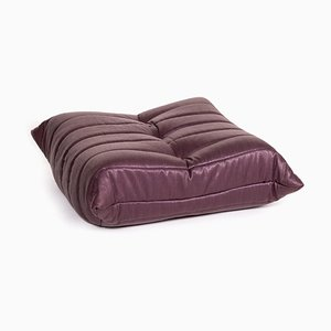 Purple Fabric Togo Ottoman by Michel Ducaroy for Ligne Roset