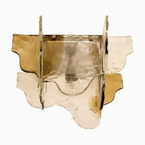 Flush Mount Murano Glass Light by Carlo Nason for Mazzega, Italy, 1960s