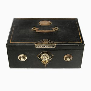 Vintage Metal Portable Safe from Misono