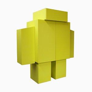 Meuble Robot Jaune, 2010