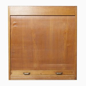 Tambour Front Cabinet, 1960s