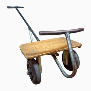 Vintage Iron Children's Cart, 1960s