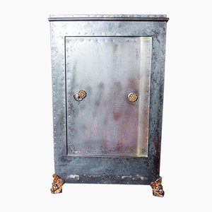 Antique Decorated Drinks Vault Safe, 1880s