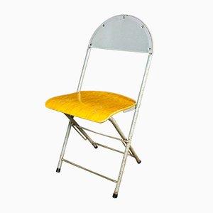 Industrial Folding Chair by Friso Kramer for Ahrend de Cirkel, 1950s