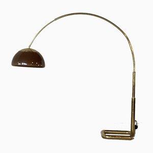 Lámpara de pie de arco Mid-Century de Gebrüder Cosack