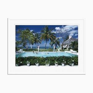 Leonard Dalsemer Oversize C Print Framed in White by Slim Aarons