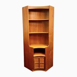 Grande Étagère d'Angle Vintage de Nathan Furniture, 1980s