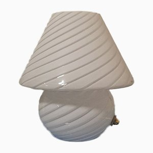 Murano Glass Mushroom Table Lamp, 1990s