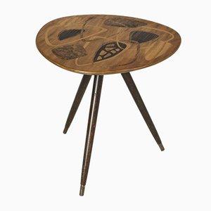 Table Basse Mid-Century Incrustée, Suède, 1950s