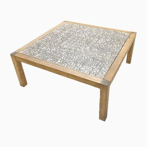 Geometric Granite Coffee Table by Rik Vermeersch, 1980s
