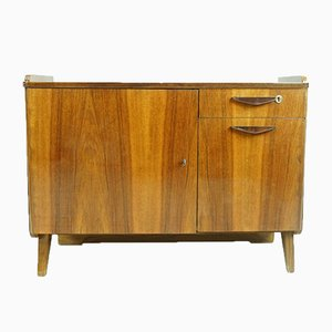Walnut Veneer Sideboard by František Jirák for Tatra, 1960s