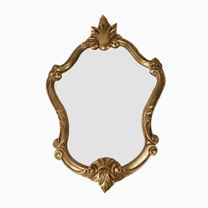 Baroque Style Gold Mirror, 1930s