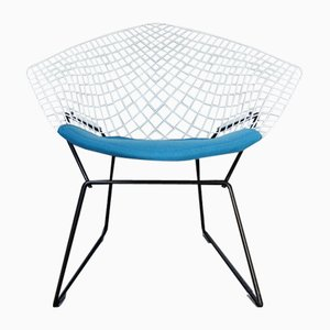 Mid-Century Model 421 Diamond Armchair by Harry Bertoia for Knoll Inc. / Knoll International, 1970s