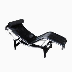 Chaise Lounge Modèle LC4 Mid-Century par Le Corbusier, Jeanneret & Perriand pour Cassina, 1960s