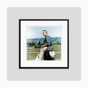 Steve Mcqueen Framed in Black