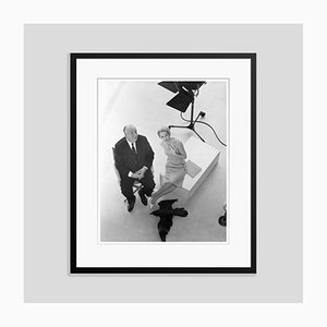 Alfred Hitchcock and Tippi Hedren Archival Pigment Print Framed in Black