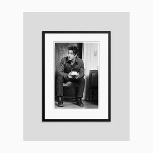 Al Pacino Al in London Archival Pigment Print Gerahmte in Schwarz von Steve Wood