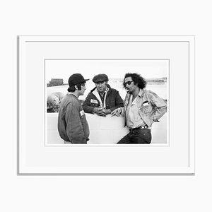 Al Pacino on Location im Colorado State Penitientry Archival Pigment Print in Weiß von Everett Collection gerahmt