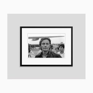 Alain Delon Archival Pigment Print Framed in Black by Jean-Pierre Bonnotte