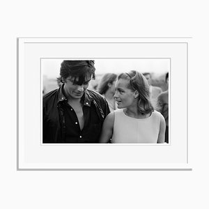 Schneider and Delon Archival Pigment Print Framed in White by Jean-Pierre Bonnotte