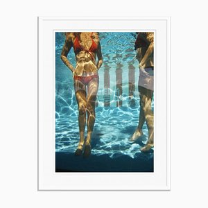 Pool At Las Brisas Oversize C Print Framed in White by Slim Aarons