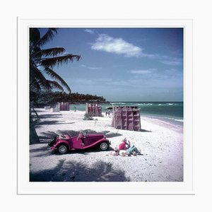 John Rawlings Oversize C Print Framed in White by Slim Aarons